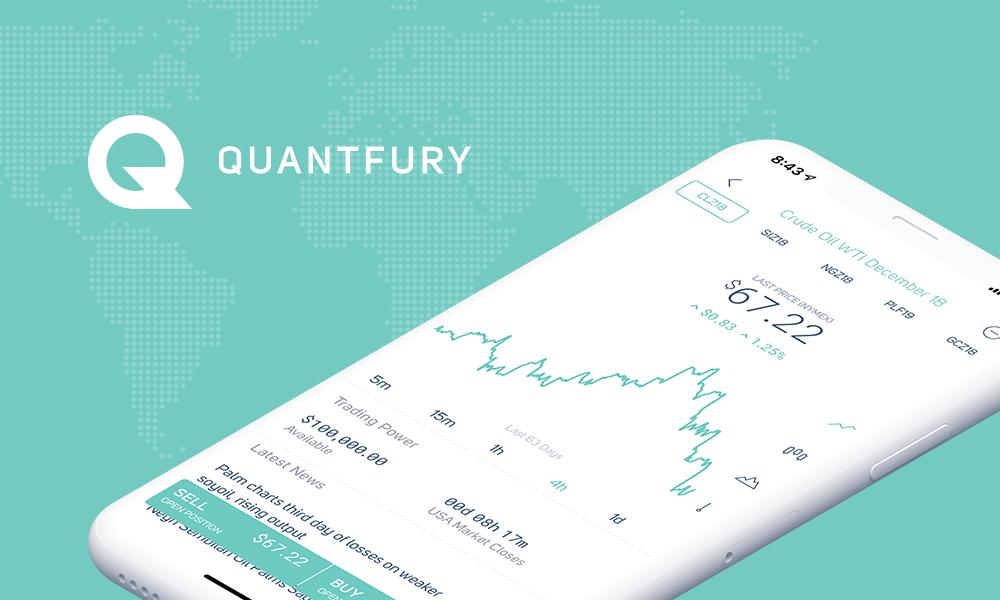 Quantfury será el puente entre tus criptos y los mercados financieros, todo  en la palma de tu mano - CRIPTO TENDENCIA